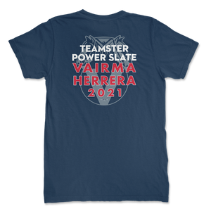 Teamster Logo Unisex T-Shirt ( 2 sided print )
