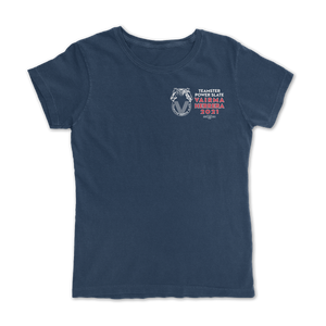 Teamster Logo Womens T-Shirt ( 2 sided print )