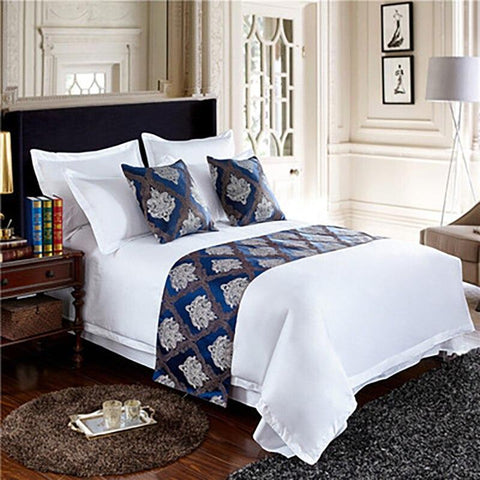 Bed Flag Hotel Cupboard Table Runner Decor
