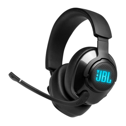 JBL Quantum 400 Wired Over-Ear Gaming Headphones with USB and Game-Chat Balance Dial