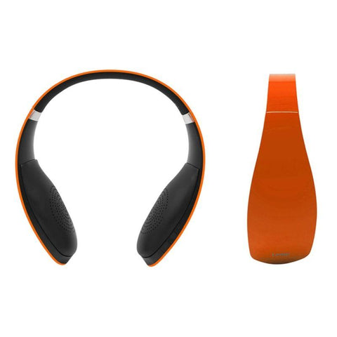 Leme Wireless Bluetooth Headphones with Built-In Mic and 12-Hour Battery