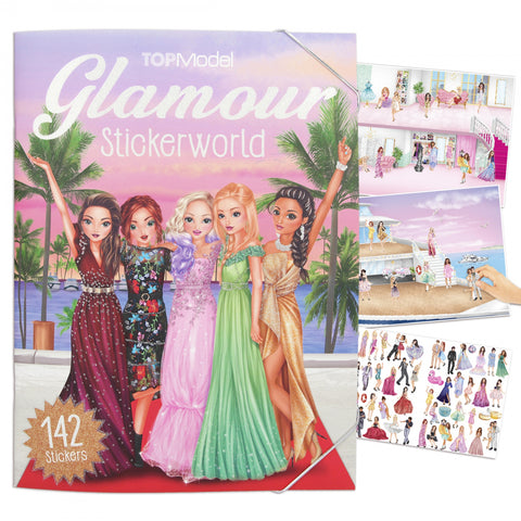 TOPModel Glamour Stickerworld (5+)