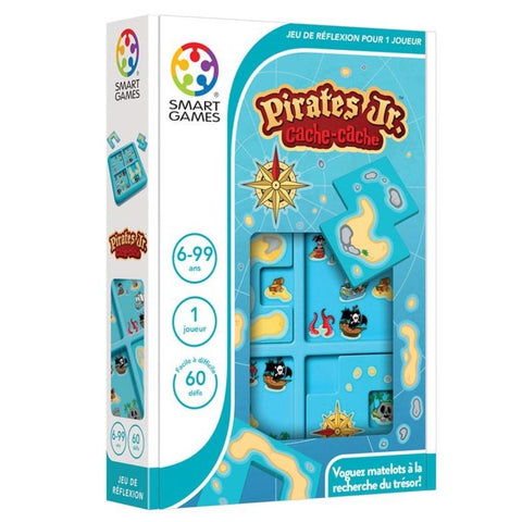 Cache-cache Pirates Jr (6+)