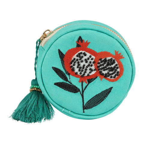 Pochette ronde Pep's Pop turquoise