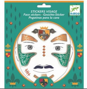 Stickers visage Chevalier (3+)