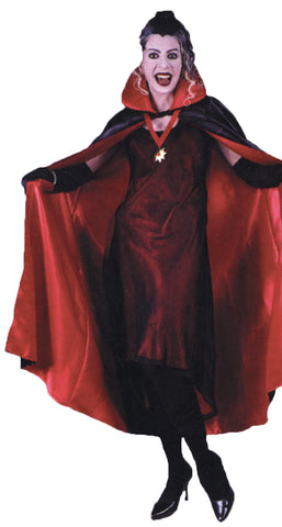 "56"" Deluxe Red Cape"