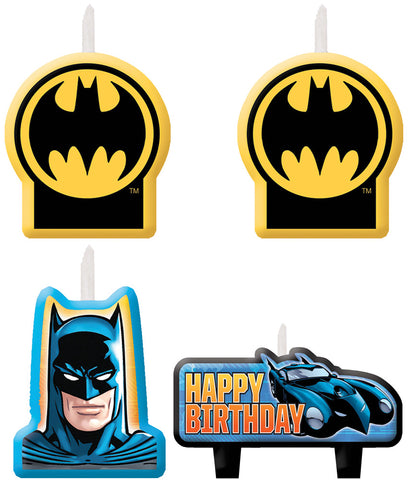 Batman Candle Set - Pack of 4