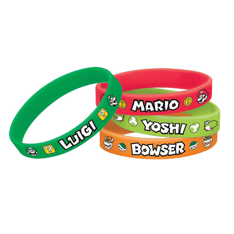 Super Mario Bracelet - Pack of 4
