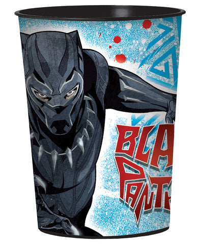 16oz Black Panther Favor Cup 1-Count