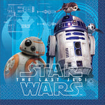 "5"" Star Wars VII Bev Napkins - Pack of 16"