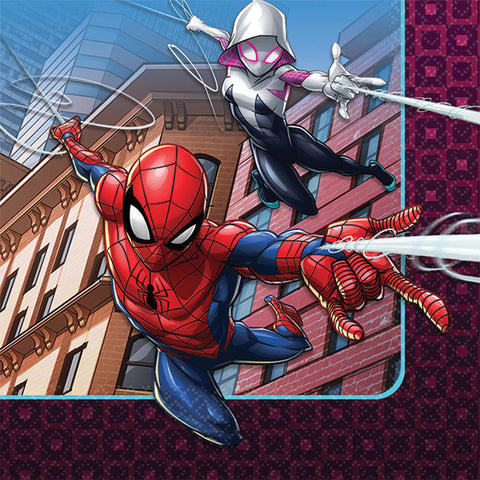 "5"" Spider-Man Bev Napkins - Pack of 16"