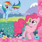 "5"" My Little Pony Bev Napkins - Pack of 16"