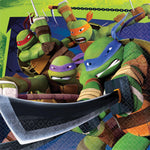 "6.5"" Ninja Turtles Lunch Napkins - Pack of 16"