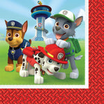 "6.5"" PAW Patrol Lunch Napkins - Pack of 16"