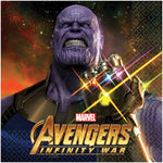 "6.5"" Marvel Infinity War Lunch Napkins - Pack of 16"