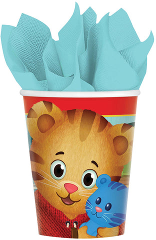 9oz Daniel Tiger Cups - Pack of 8