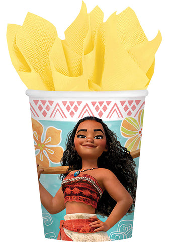 9oz Moana Cups - Pack of 8