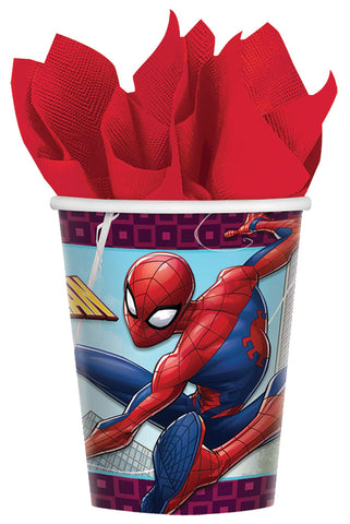 9oz Spider-Man Cups - Pack of 8