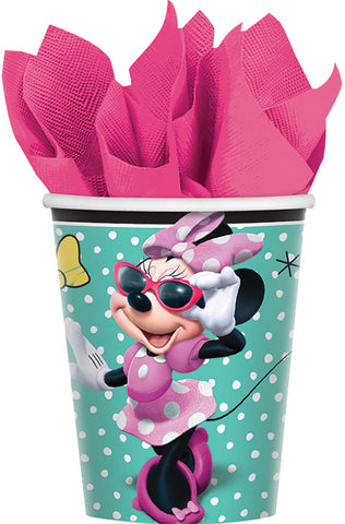 9oz Minnie Helpers Cups - Pack of 8