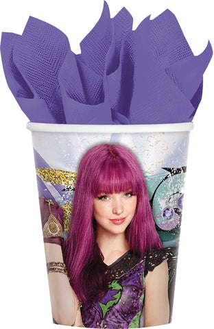 9oz Disney Descendants 2 Cups - Pack of 8