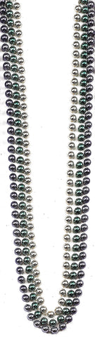 "48"" Beads 10mm Metallic - Pack of 12"