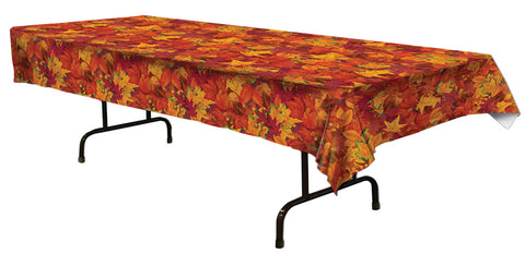 "54"" x 108"" Fall Leaf Table Cover"