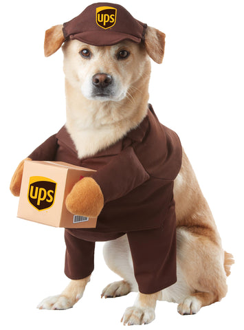 UPS Pal Dog Costume