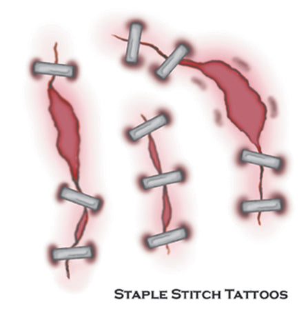 Tattoo Staple Stitch Fx