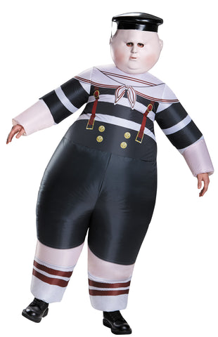 Men's Tweedle Dee/Dum Inflatable Costume - Alice Through The Looking Glass Movie