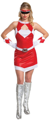Women's Red Ranger Deluxe Costume - Mighty Morphin