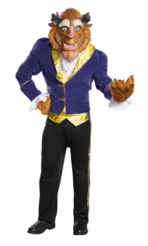 Men's Plus Size Beast Ultra Prestige Costume - Beauty & the Beast