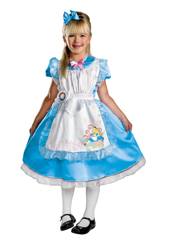 Alice Deluxe Costume - Alice In Wonderland