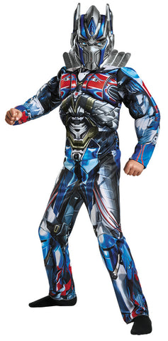 Boy's Optimus Prime Classic Muscle Costume - Transformers Movie 5