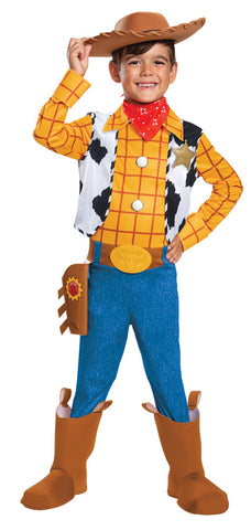 Boy's Woody Deluxe Costume - Toy Story 4