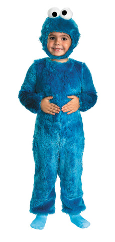 Boy's Cookie Monster Comfy Fur Costume - Sesame Street