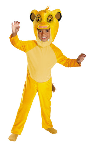 Boy's Simba Classic Costume - The Lion King