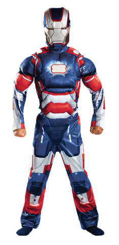 Boy's Iron Patriot Classic Muscle Costume