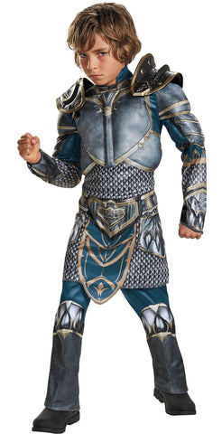 Boy's Lothar Classic Muscle Costume - World of Warcraft