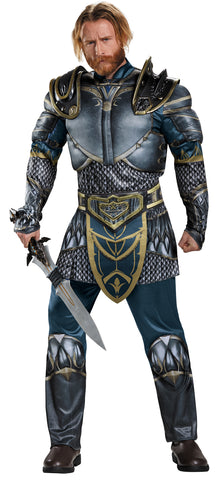 Men's Plus Size Lothar Classic Muscle Costume - World of Warcraft