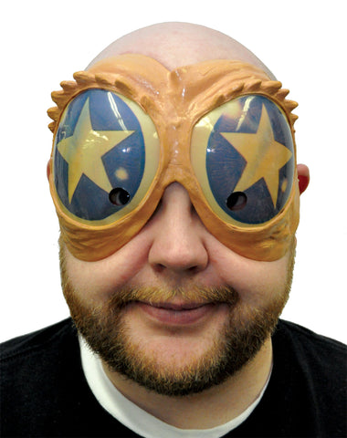 Blue & Gold Star Peeper Mask