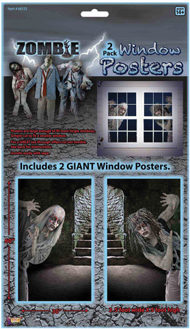 Zombie Window Clings