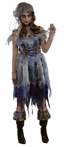 Women's Zombie Pirate Costume