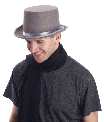 Top Hat Gray Adult