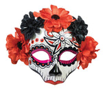 Women's Day of Dead Skull Mask
