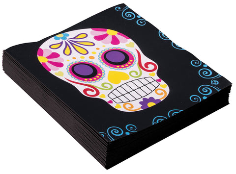 Day of the Dead Napkins - Pack of 16
