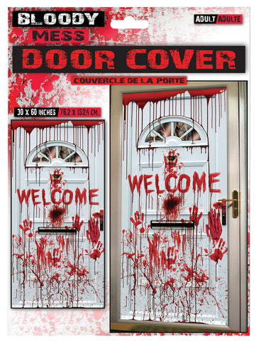 "30"" X 60"" Bloody Door Cover"