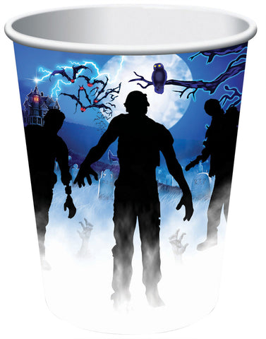 9oz Zombie Party Cups - Pack of 8
