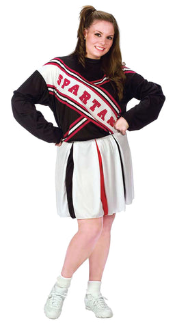Women's Plus Size Spartan Cheerleader Costume - Saturday Night Live