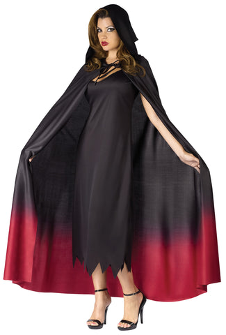 Cape Ombre Hooded