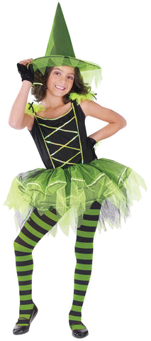 Ballerina Witch Green